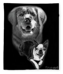 Festus And Rosie Fleece Blanket
