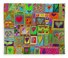 find U'r Love found    v15 Fleece Blanket