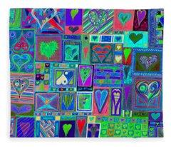 find U'r Love found    v13 Fleece Blanket