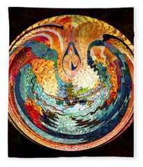 Fire And Water Fleece Blanket