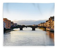 Firenze - Italia Fleece Blanket