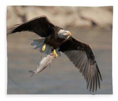 Fish To Go Fleece Blanket