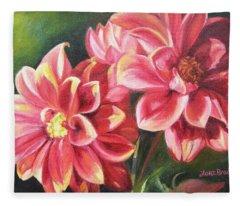 Flowers For Mom I Fleece Blanket