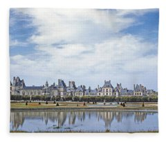 Fontainebleau Palace  Fleece Blanket