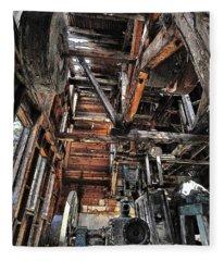 Forgotten Mill Fleece Blanket