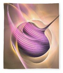 Aeternitas - Abstract Art Fleece Blanket