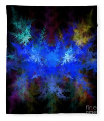 Fractal Fleece Blanket