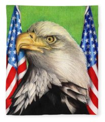 Freedoms Pride Fleece Blanket