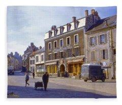 French Village Fleece Blanket