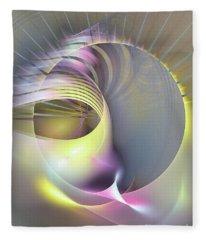 Futura - Abstract Art Fleece Blanket