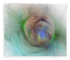 Gentle Trance Fleece Blanket