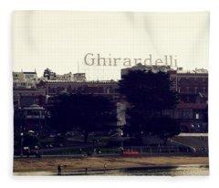 Ghirardelli Square Fleece Blanket
