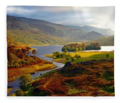 Glen Strathfarrar Fleece Blanket