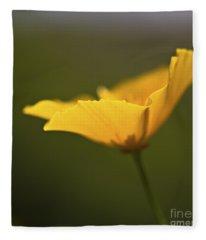 Golden Afternoon. Fleece Blanket