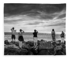 Goodbye Miss Lonely Hearts Fleece Blanket