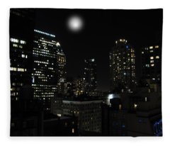 Gotham City Fleece Blanket