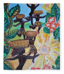 Haiti Reaquake Fleece Blanket