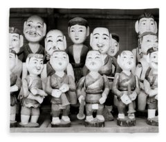 Hanoi Water Puppets Fleece Blanket