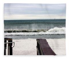 High Surf Fleece Blanket