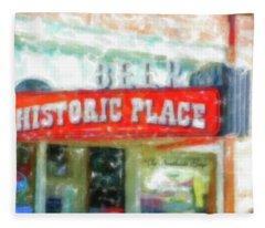 Historic Place Ogden Utah Fleece Blanket
