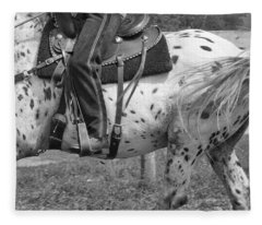 Hittin The Trail Fleece Blanket