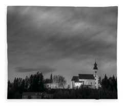 Holy Spirit Church Fleece Blanket