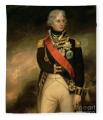 Horatio Viscount Nelson Fleece Blanket