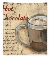 Hot Chocolate Fleece Blanket