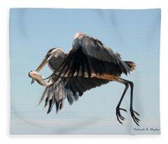 In Flight 3 Fleece Blanket
