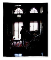 In The Shadows Fleece Blanket
