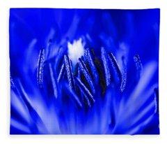 Inside A Flower Fleece Blanket