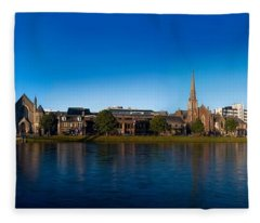 Inverness Waterfront Fleece Blanket