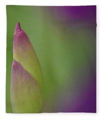 Iris-istible 1 Fleece Blanket