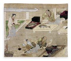 Japan: Kitchen, C1375 Fleece Blanket