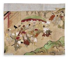 Japan: Peasants, C1575 Fleece Blanket