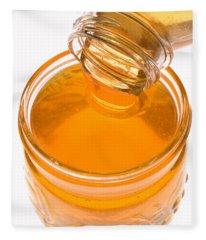 Jar Of Honey Fleece Blanket