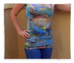 Jupiter Performance Ladies Shirt Fleece Blanket