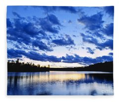 Just Before Nightfall Fleece Blanket