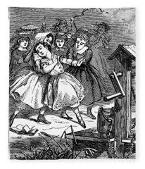 Juvenile Crime, 1868 Fleece Blanket
