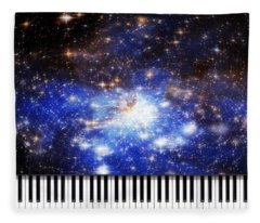 Keys Of The Divine Fleece Blanket
