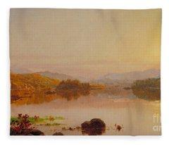 Lake Wawayanda Fleece Blanket