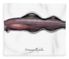 Living Fossil Eel - Protoanguilla Palau - Isle Of Palau Fleece Blanket