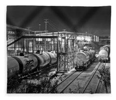 Loading Station Fleece Blanket