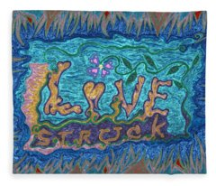 Love Struck Fleece Blanket