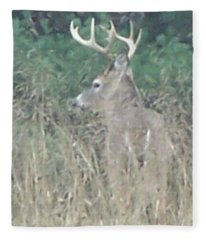 Majestic Buck Fleece Blanket