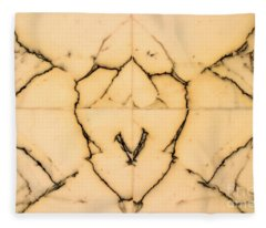 Marble Face Fleece Blanket