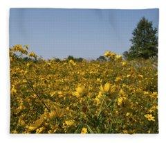 Meadow At Terapin Park Fleece Blanket
