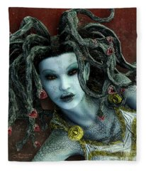 Medusa Fleece Blanket