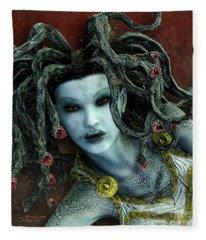 Medusa Fleece Blanket