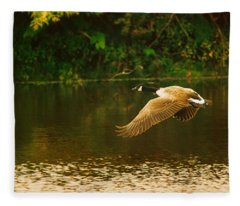 Midmorning Launch Fleece Blanket